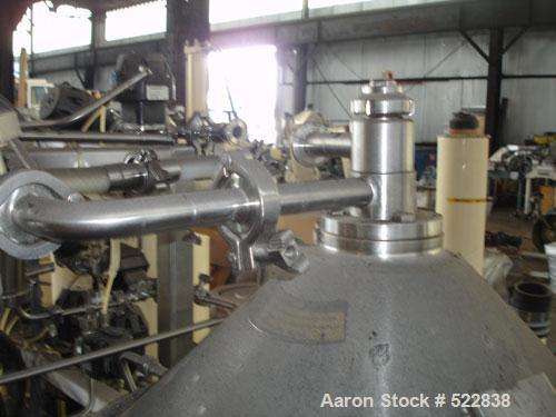 USED: Westfalia CSA-19-06-476-CLFG desludger disc centrifuge, biotech design, stainless steel construction. Steam sterilizab...