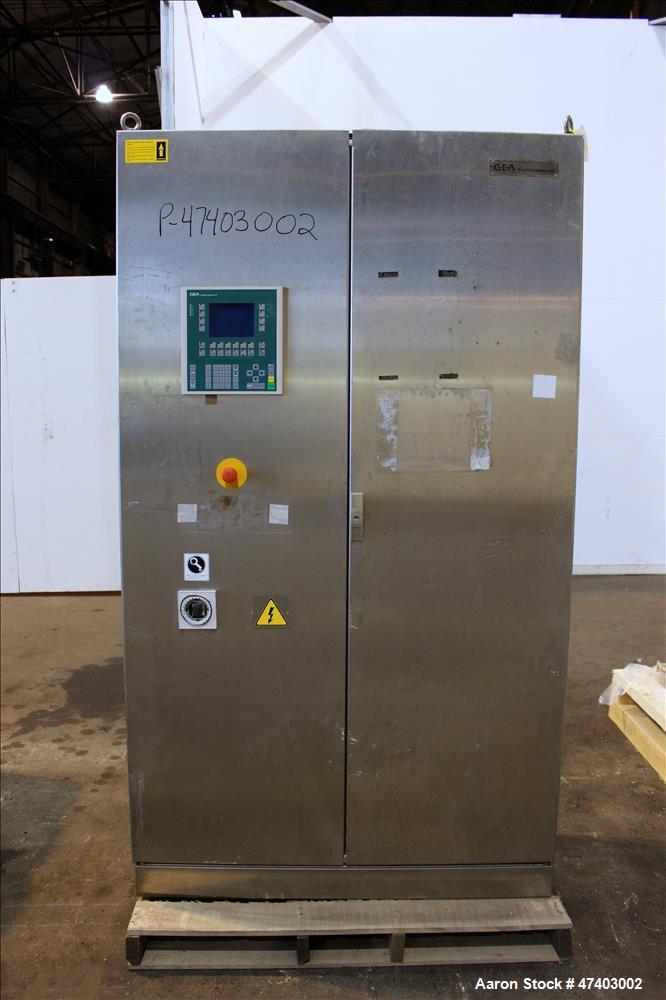Used- Westfalia Desludger Disc Centrifuge, Model GSE-200-06-777