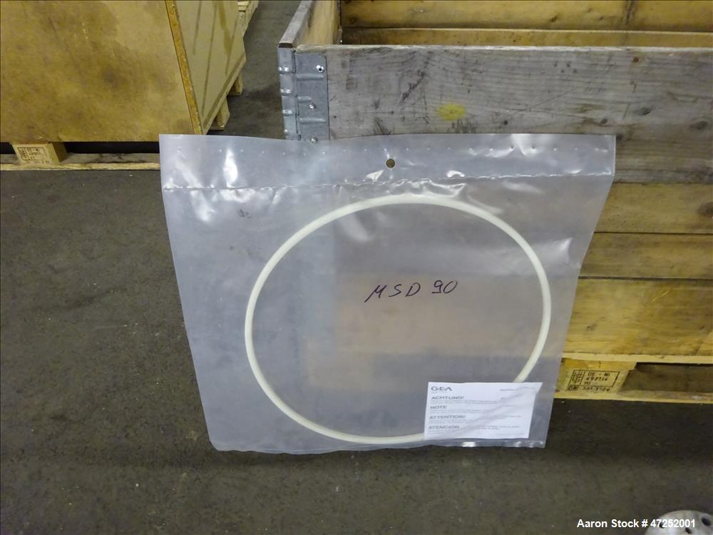 Used- Westfalia MSD-90-01-076 Desludger Disc Centrifuge.