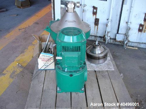 Used- Westfalia Centrifuge, Model OSD-18-01-037/18