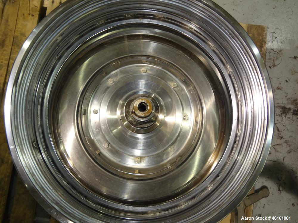 Used- Westfalia SA-100-36-177 Desludger Disc Centrifuge
