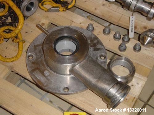 Used- Westfalia SA-160-06-177 Desludger Disc Centrifuge