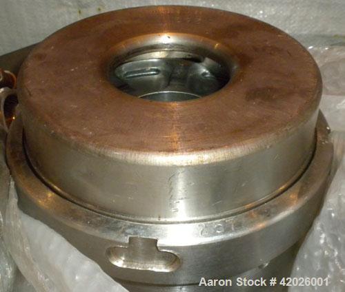 Used- Westfalia SA-35-06-076 Desludger Disc Centrifuge. Stainless steel, clarifier design (liquid/solids separation), maximu...