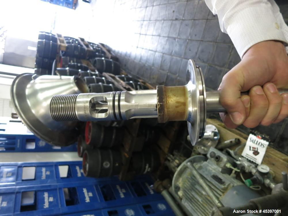 Used- Westfalia SA-35-06-076 Desludger Disc Centrifuge
