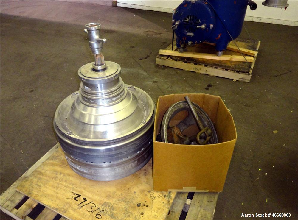 Used- Westfalia SA-40-03-076 Disc Centrifuge.