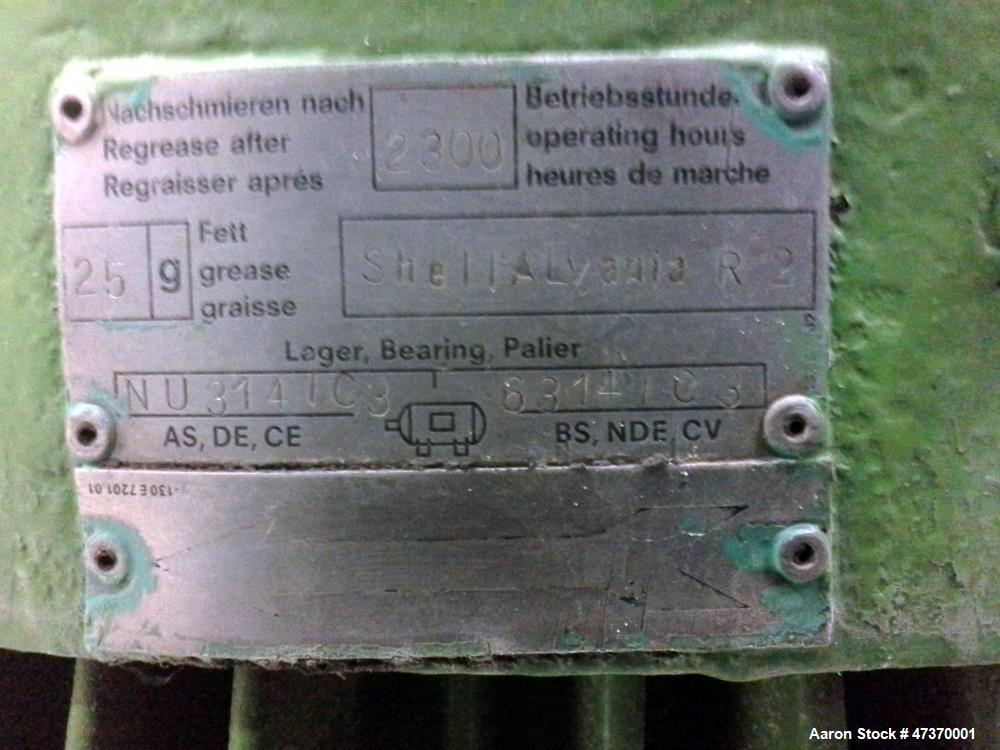 Used- Complete Westfalia SA-45-36-177 Disc Centrifuge