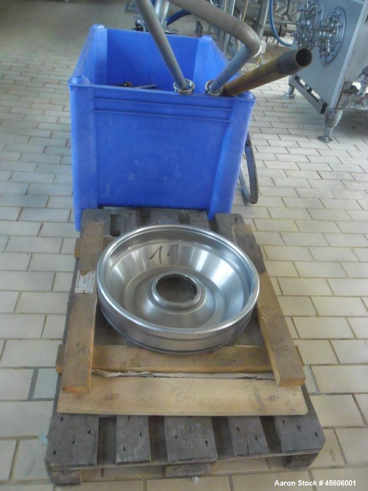 Used- Stainless Steel Westfalia Desludger Disc Centrifuge, SA-60-06-076