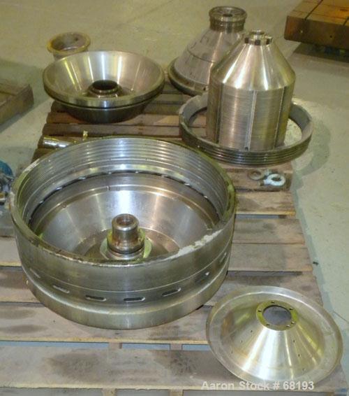 Used- Stainless Steel Westfalia Desludger Disc Centrifuge, SA-82-06-177
