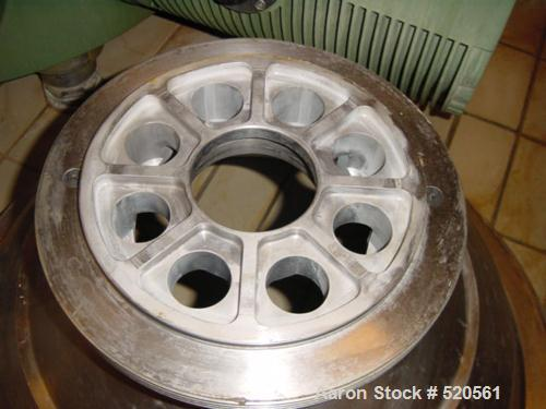 USED: Westfalia centrifuge, type SA160-06-177. Material ofconstruction is stainless steel on product contact parts. Maxbowl ...
