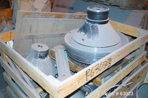 USED: Westfalia separator type SAMM12006. 316 stainless steel construction. Working capacity 3175 gal/hr (12000 liter). Max ...