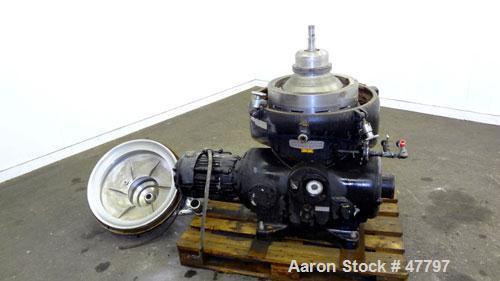 Used- Stainless steel Westfalia Disc Centrifuge, SAOOH-4006