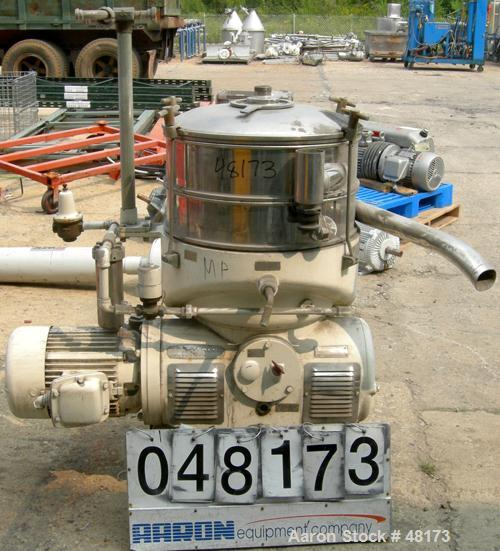 Used- Stainless Steel Westfalia Disc Centrifuge, SAOOM-5016