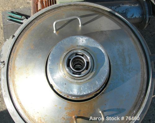Used- Stainless Steel Westfalia Desludger Disc Centrifuge, VA-35-09-566