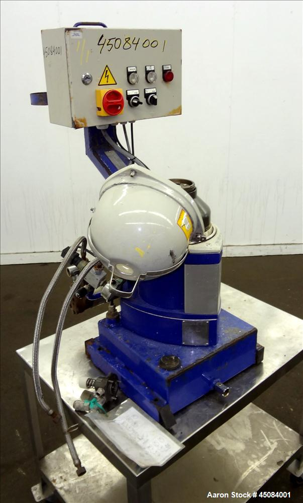 Used- Alfa Laval MIB-303S-13 Solid Bowl Disc Centrifuge.