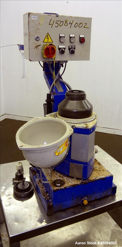 Used- Stainless Steel Alfa Laval Solid Bowl Disc Centrifuge, MIB-303S-13