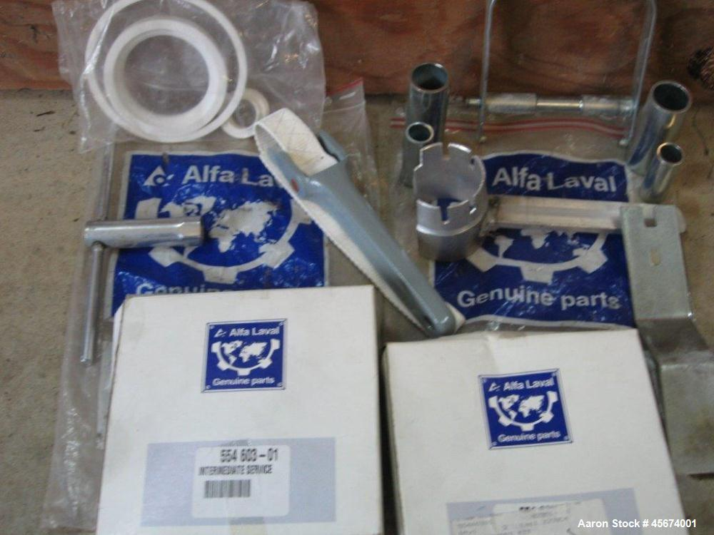 Used- Alfa Laval MIB-303S-13 Solid Bowl Disc Centrifuge