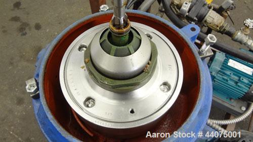 Used- Alfa Laval MMB 304S-11 Solid Bowl Disc Centrifuge