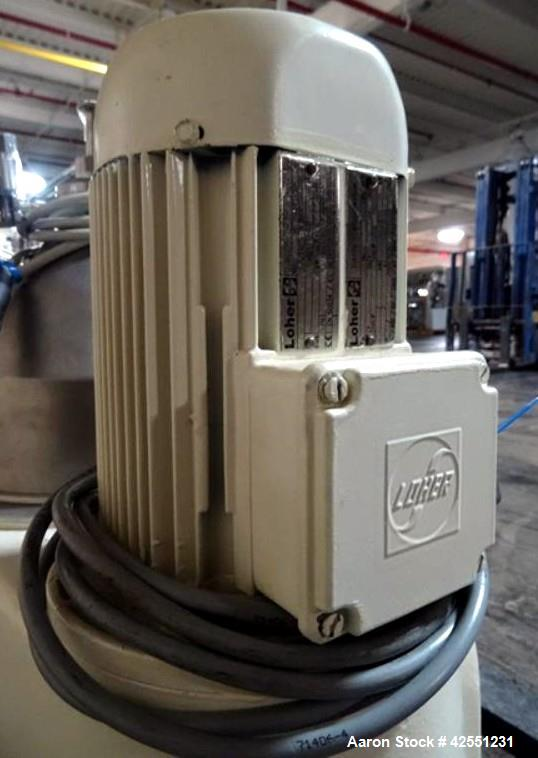Used-GEA Westfaila CTC-1-06-107 Solid Bowl Disc Centrifuge, Stainless Steel. 12,000 Rpm max bowl speed, rated 1.0kg/cu dm he...