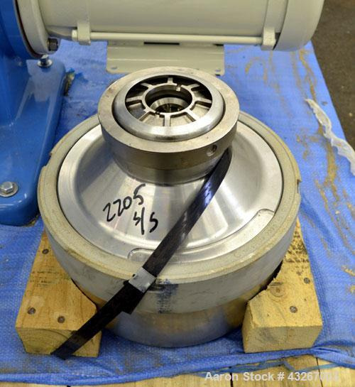 Stainless Steel Hutchison Hayes Solid Bowl Disc Centrifuge, HH-360