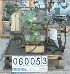 Used- Stainless Steel/Aluminum Westfalia Solid Bowl Disc Centrifuge, Model OTA-14-066
