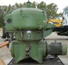 Used- Stainless Steel Westfalia Solid Bowl Disc Centrifuge, OTA-30-00-066
