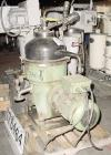 Used- Stainless Steel Westfalia Solid Bowl Disc Centrifuge, TA-40-02-506
