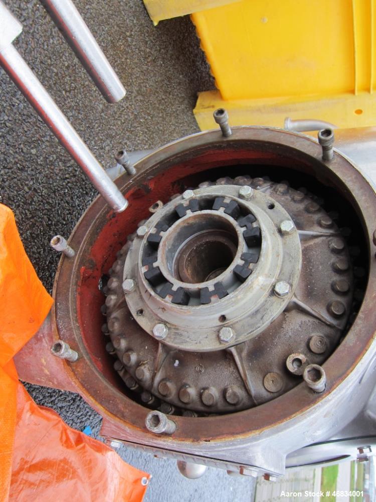 Used- Westfalia MSD-200-01-076 Desludger Disc Centrifuge