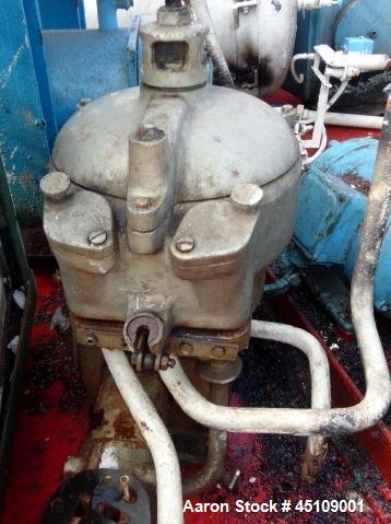 Used- Westfalia Fuel & Oil Separator, Model OTA-00-066