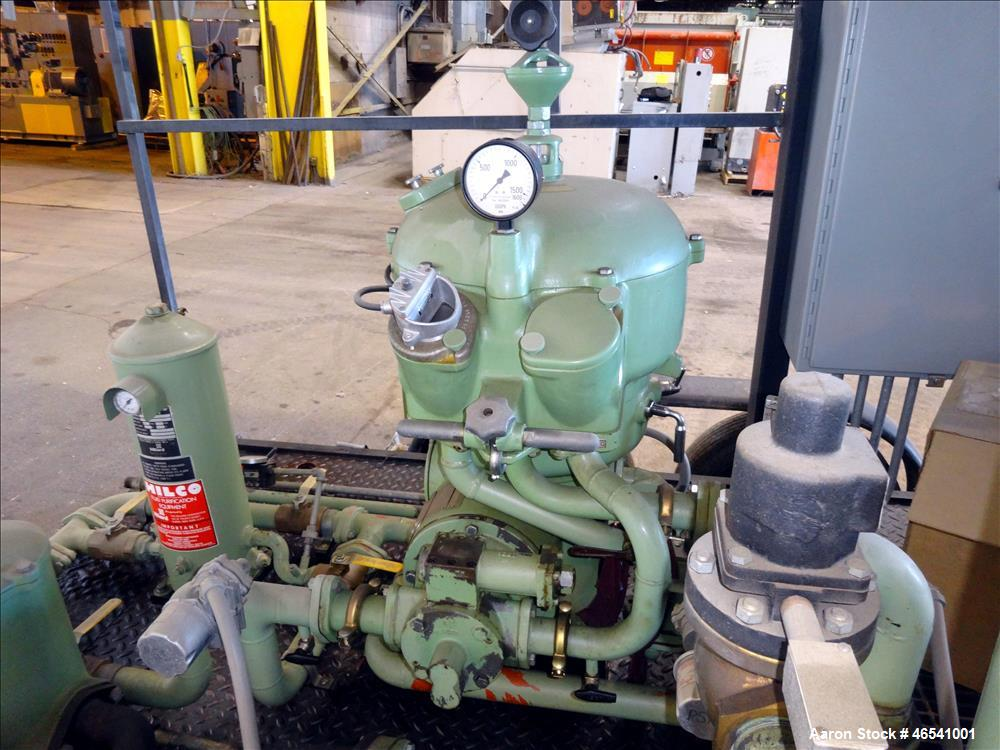 Used- Westfalia OTA-14-00-066 Solid Wall Disc Centrifuge. Stainless steel construction (product contact areas), separator de...