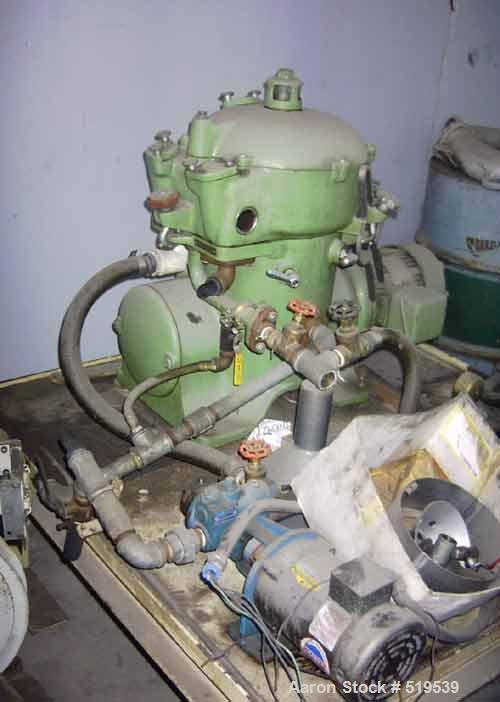 USED: Westfalia centrifuge, model OTA 7-00 066.