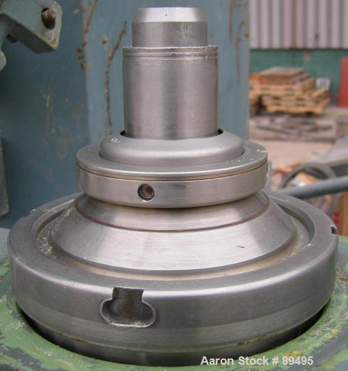 Used- Stainless Steel Westfalia Solid Bowl Disc Centrifuge,  OTB-2-00-066