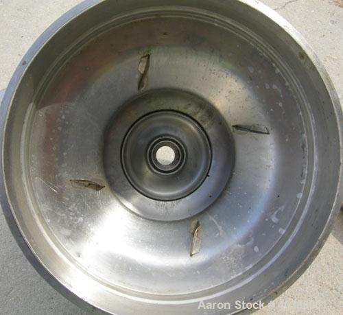 Used- Stainless Steel Westfalia Solid Bowl Disc Centrifuge, RTA-45-01-076