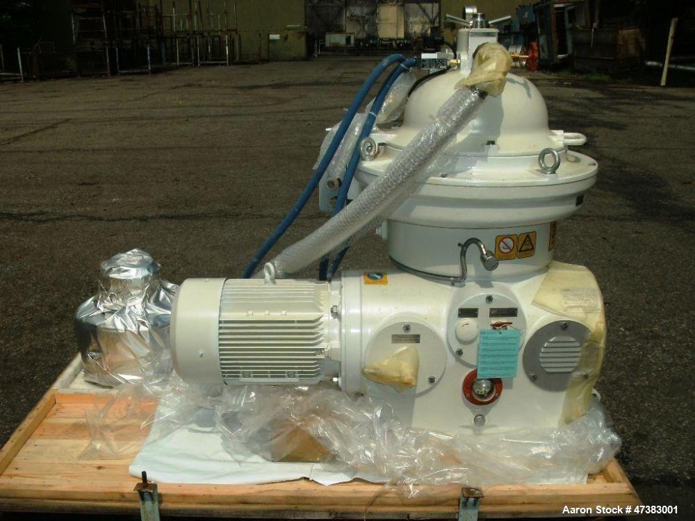 Unused- Westfalia OSC 30-91-366/20 Desludger Disc Centrifuge. 316 Stainless steel (product contact areas), maximum bowl spee...