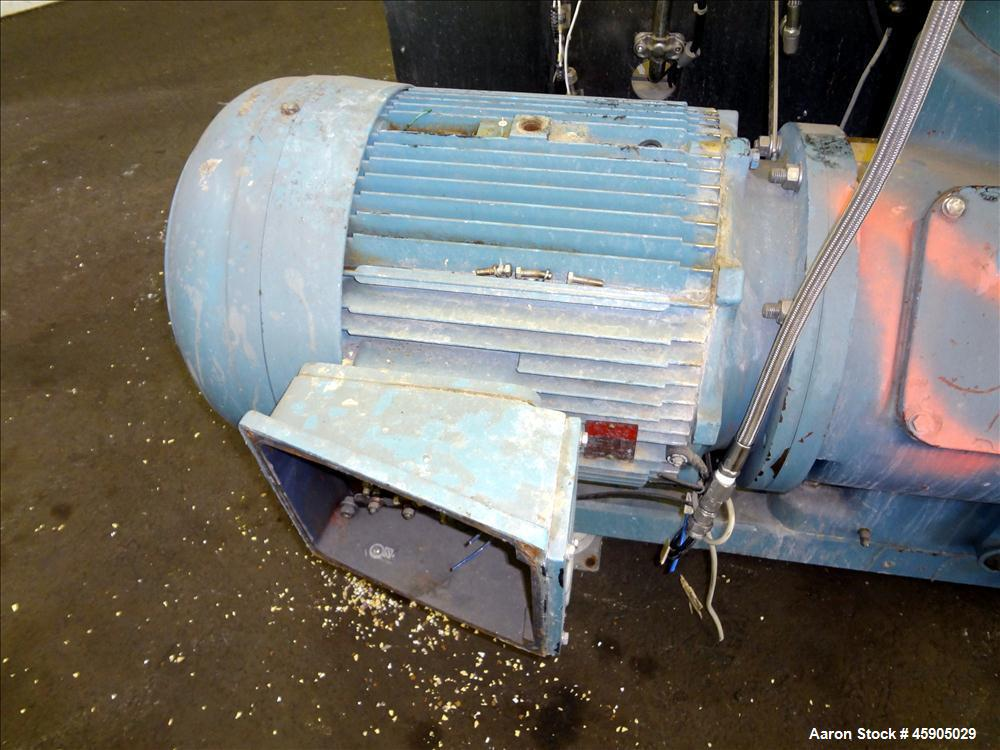 Used- Alfa-Laval BTUX-51OT-34CEP-60 Nozzle Disc Centrifuge, 316 stainless Steel (product contact areas), clarifier design (L...