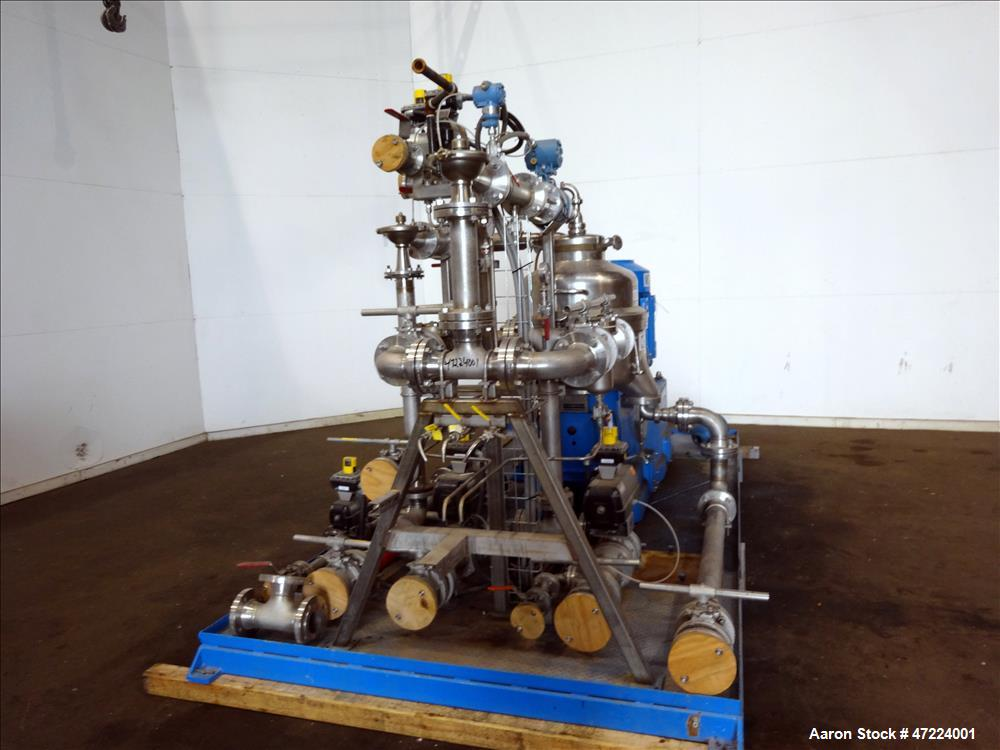 Used- Alfa Laval  FEUX-412 Nozzle Disc Centrifuge