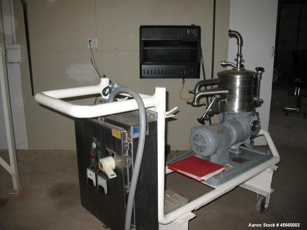 Used- Westfalia SKOG-205 Nozzle Disc Centrifuge