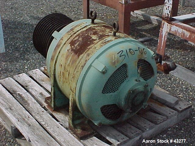 Used- Stainless Steel Dorr Oliver Merco Centrifuge