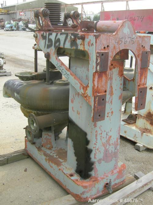 Used- Dorr Oliver BX-16 Merco Centrifuge. Stainless steel bowl. Bronze housing, recycle feature (missing u-bend connecting p...