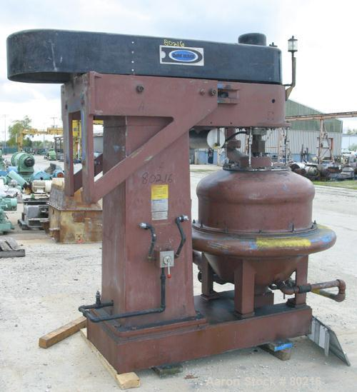 USED: Dorr Oliver Merco BH-36 nozzle disc centrifuge. Ferralium 225 rotor assembly, bronze housing. Driven by a 150 hp, 3/60...