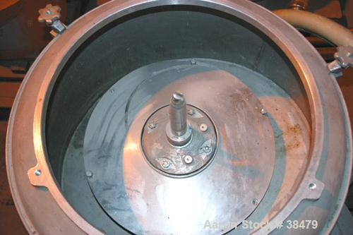 Used- Stainless Steel Sharples Nozzlejector Centrifuge
