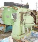 USED: Dorr Oliver/Merco BH-30 nozzle disc centrifuge. Max bowl speed 3300 rpm, stainless steel rotor assembly, bronze housin...
