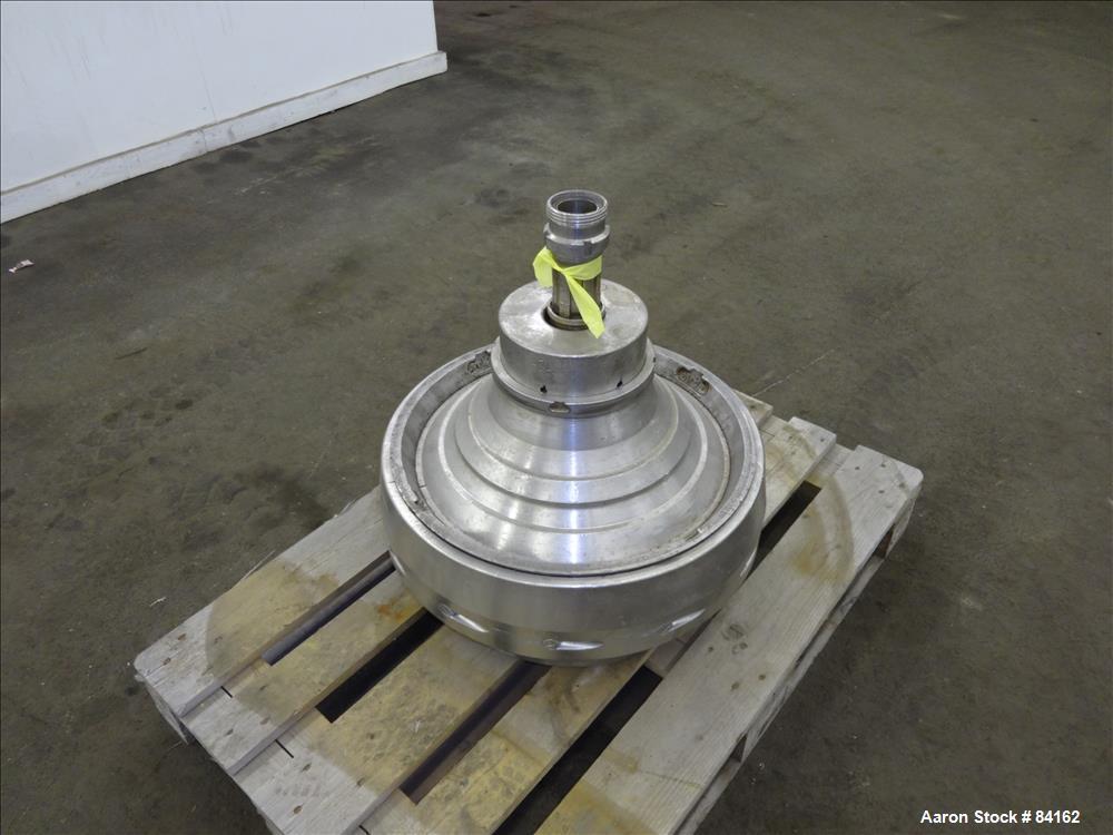 Used- Stainless Steel Westfalia Nozzle Disc Centrifuge, HDA-75-06-016