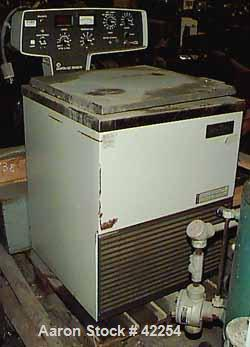 "Used- Damon/IEC Refrigerated Centrifuge, Model DPR-6000. 22-1/2"" Diameter x approximately 15"" deep 304 stainless steel chamb..."