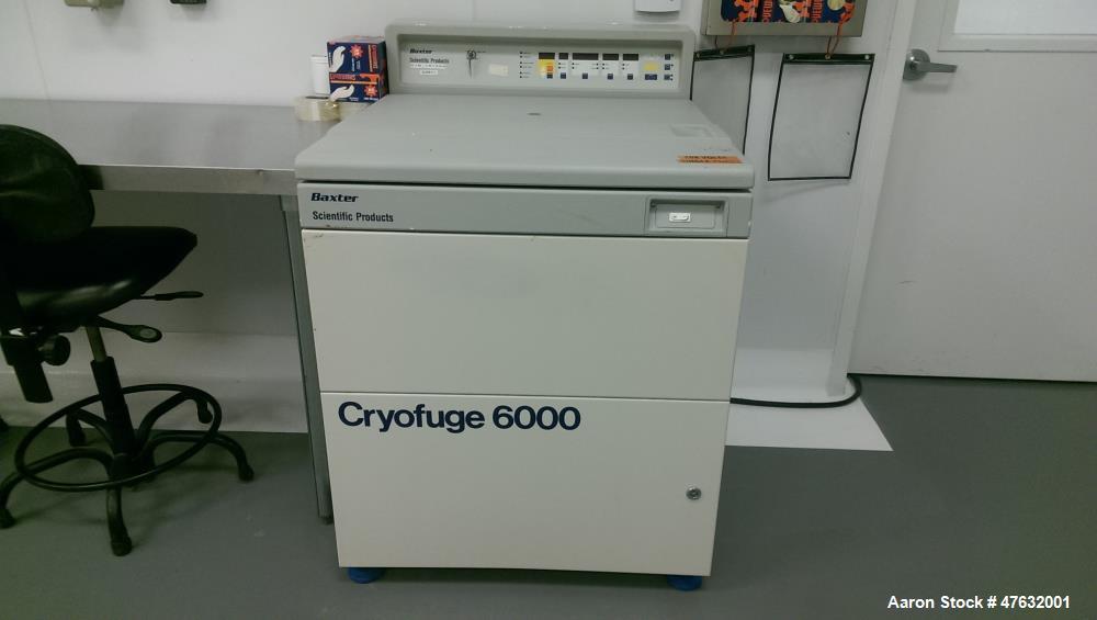 Used- Heraeus Spatech 6000 Lab Centrifuge
