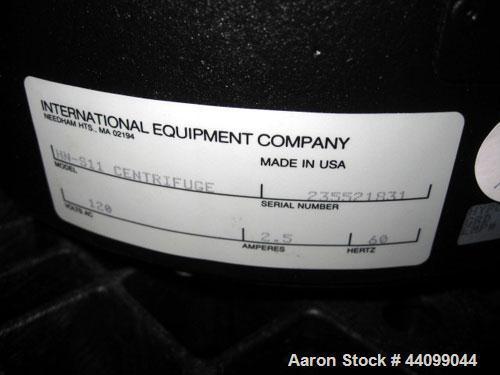 Used- Internationa Equipment Company IEC Lab Centrifuge, Model HN-SII. (12) Station hub, 120V, serial # 235521831