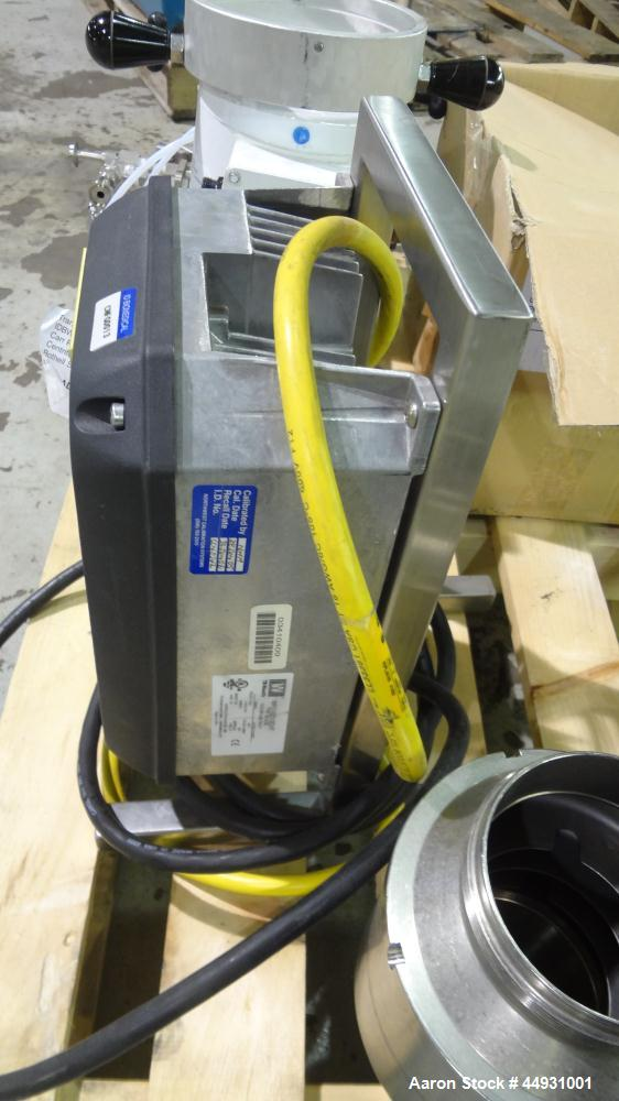 Used- Carr Powerfuge Pilot Seperation System. 316L Stainless steel/Titanium Ti-6AL-4V construction (product contact areas). ...