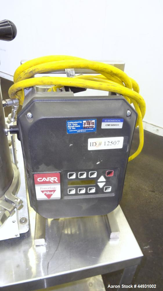 Used- Stainless Steel/Titanium Carr Powerfuge Pilot Separation System