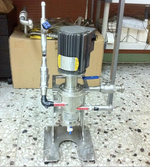 Used-CINC Centrifugal Separator/Extractor, Model V-02.  316 Stainless steel, designed for liquid separation.  Includes contr...