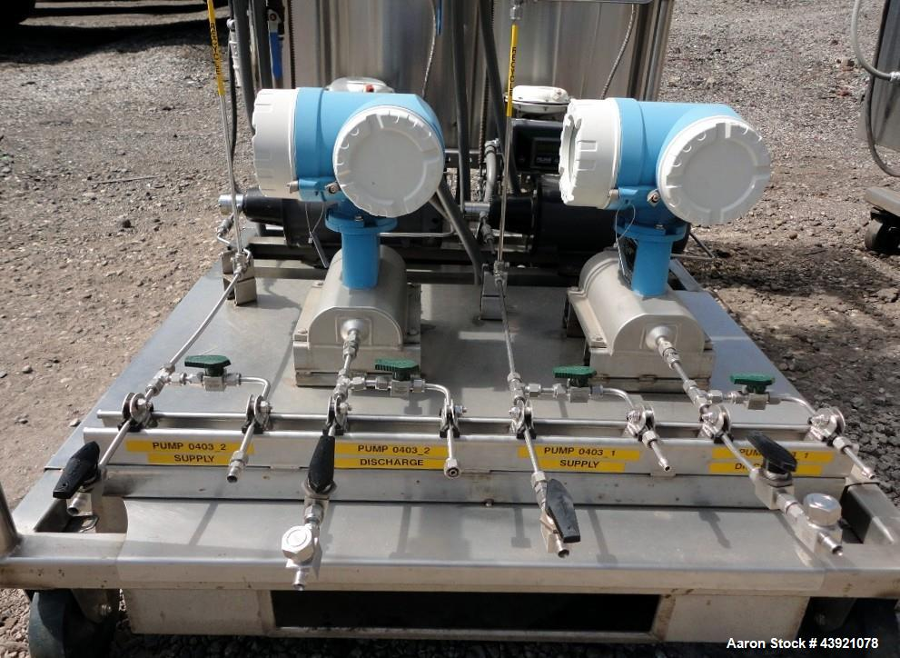 Used-Cinc Industries Three Stage Counter Current Extraction Unit Consisting Of: (1) Cinc vertical centrifuge, model V-02, ha...