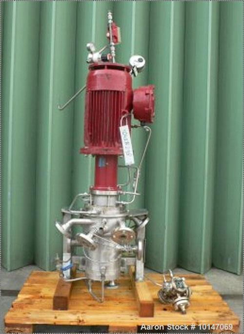 Used- Stainless Steel Centrifugal Separator/Extractor, Model V5